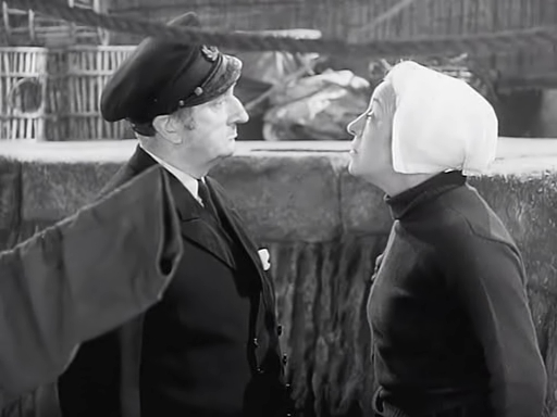 Johnny Frenchman (1945) - Françoise Rosay, Tom Walls