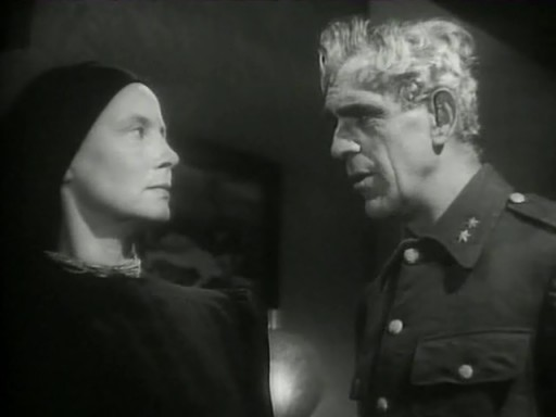 Isle of The Dead (1945) - Boris Karloff, Helen Thimig
