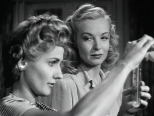 Strange Impersonation (1946) - Brenda Marshall, Hillary Brooke