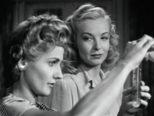 Strange Impersonation (1946) - Brenda Marshall, Hillary Brooke