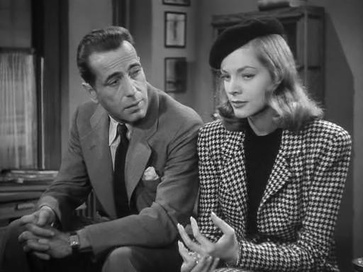The Big Sleep (1946) - Humphrey Bogart, Lauren Bacall