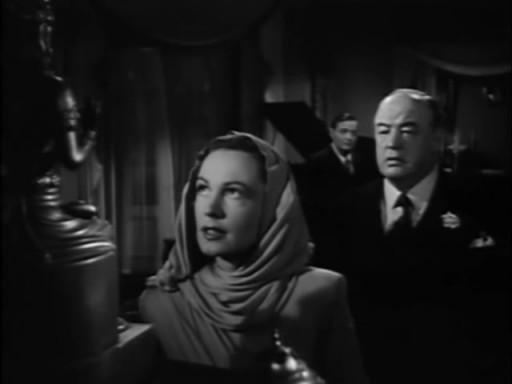 Three Strangers (1946) - Geraldine Fitzgerald, Sydney Greenstreet, Peter Lorre