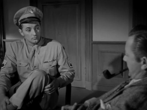 Crossfire (1947) - Robert Mitchum