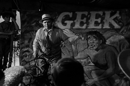 Nightmare Alley (1947) - Carnival geek
