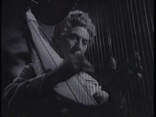 Love Happy (1949) - Harpo Marx plays the harp