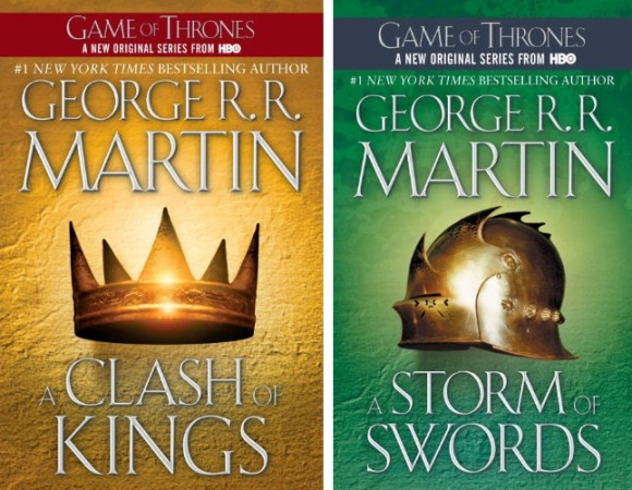 George R R Martin - A Clash of Kings, A Storm of Swords